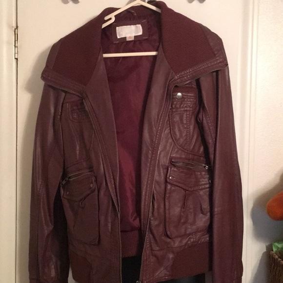 Xhilaration Jackets & Blazers - Faux leather jacket